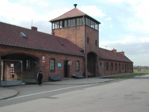 Auschwitz II-Birkenau - Main entrance Photo by Michel Zacharz